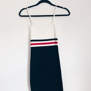 NWT LF Bodycon Striped Dress